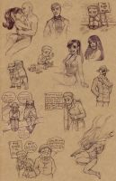 Watchmen scribbles 2 by Luthie13
