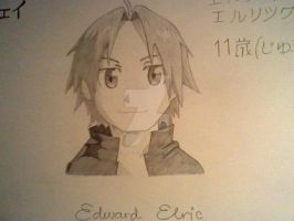Young Edward Elric by TheJadedAlchemist