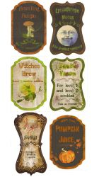 custom Potion labels by Pureblackmagik