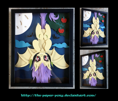 Flutterbat Shadowbox by The-Paper-Pony