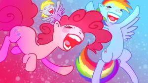 Party Ponies by cmaggot