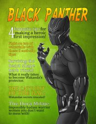 Black Panther Magazine Cover Spoof by The-Great-Geraldo