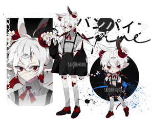 Vampire Fleuroko Adopt Auction CLOSED by shiohh