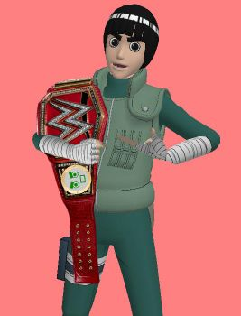 ACW Raw - Rock Lee (Universal Champion) by JoeyTribbiani125