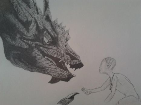 Learning to Share (pencil) by neeltjelena