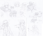 Kagerou Project Sketches by Hinna-chan