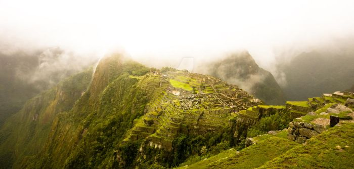 Machu Picchu 2 by NorthernWave25