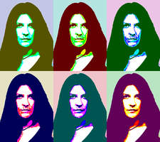 Jaq in the style of Warhol by AntonChanning