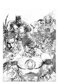 Green Lantern 62 COVER by ardian-syaf
