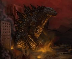 Godzilla Fever by Virus-91