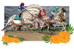 Foxfire's Triple Crown - the Preakness Stakes by Caterang8