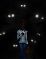 Monsters are here... I'm so scared... by Hekkoto