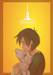 [skyworld] just two of us by WandererTamplior