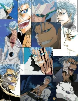 Grimmjow Collage by kissimmeebabe48