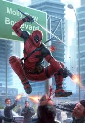 Deadpool Issue #1 (Redux) by capprotti