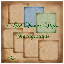 Old paper style free backgrounds by sirocco-rc