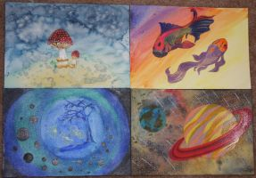 Little Paintings by CreativeExcess