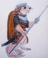 Otter Concept for Redwall by Kiaserliche