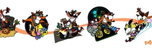 Crash Bandicoot through Time by Group5Show