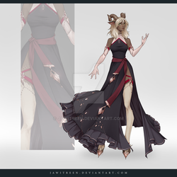 (CLOSED) Adoptable Outfit Auction 301 by JawitReen