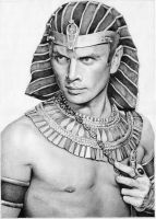 Yul Brynner as Rameses by Daddyo4