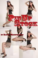 Pinup Stock Set - Sitting 2 by Karma-Manipulation