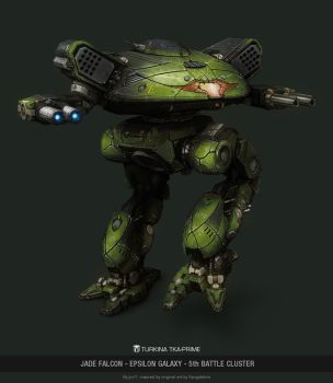 MWO - Turkina - Jade Falcon Epsilon Galaxy by user000000000001