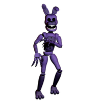 Ghostly Bonnie (commission) by 3D-Darlin