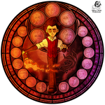 StS: Stained Glass Wilson by Aileen-Rose