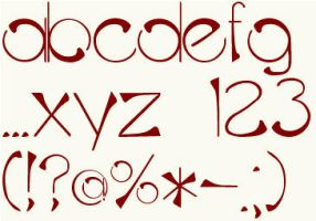 CFB Font by moeuf