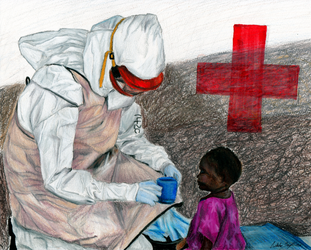 The Ebola Fighters by Valeradaine