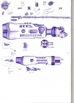 More space ships by Godfrey-Greyhaven