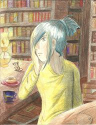 Nezumi's lonely by Wings2flywithice