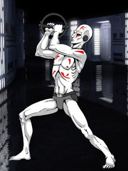 Grand Inquisitor - Star Wars Rebels by MarionPoinsot34