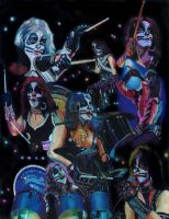Peter Criss prisma collage by choffman36
