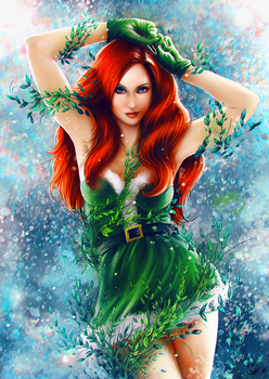 Winter Poison Ivy by junkome