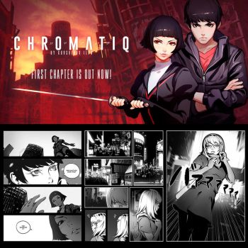 First Chapter of ChromatiQ is out now! by Kuvshinov-Ilya