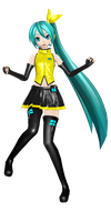 [PDF2nd x DTExtend] Vocal Miku by PiettraMarinetta
