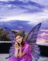 Portrait of a Fairy At Afternoon by RogerioGuimaraes