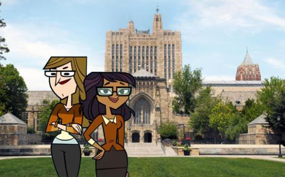 Ellody and Mary at Yale by Uranimated18