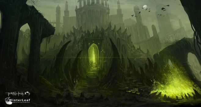 DAWN OF ASCENSION concept art by thatnickid