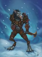 Worgen rogue by Nuxxe