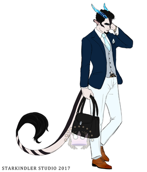 Modern!Septimus by StarkindlerStudio