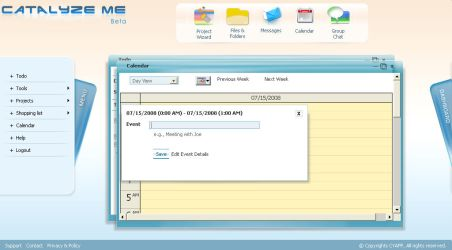 Project Tracking System - Cal by netpal