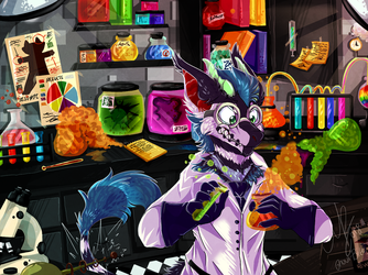 Laboratory by Ghoul-bite