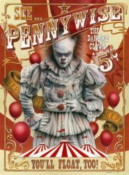 Pennywise the Dancing Clown by mcalandra