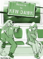Welcome to New Dawn [WIP Cover] by Zummeng