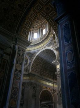 the vatican at noon by DustyPoptart