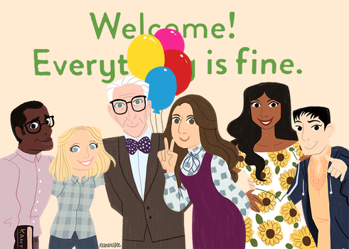 The Good Place by reimena