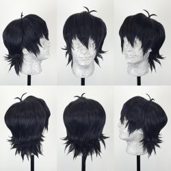 Keith Voltron Wig Commission by Pisaracosplay